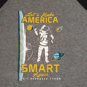 Shirts - Make America Smart Again Shirt L